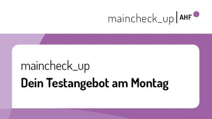 Banner maincheck_up Montag
